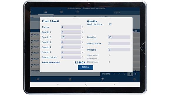 screenshot mobile agent - Canino srl SB - Marsala (Trapani))